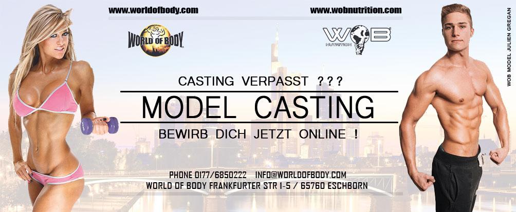 model casting